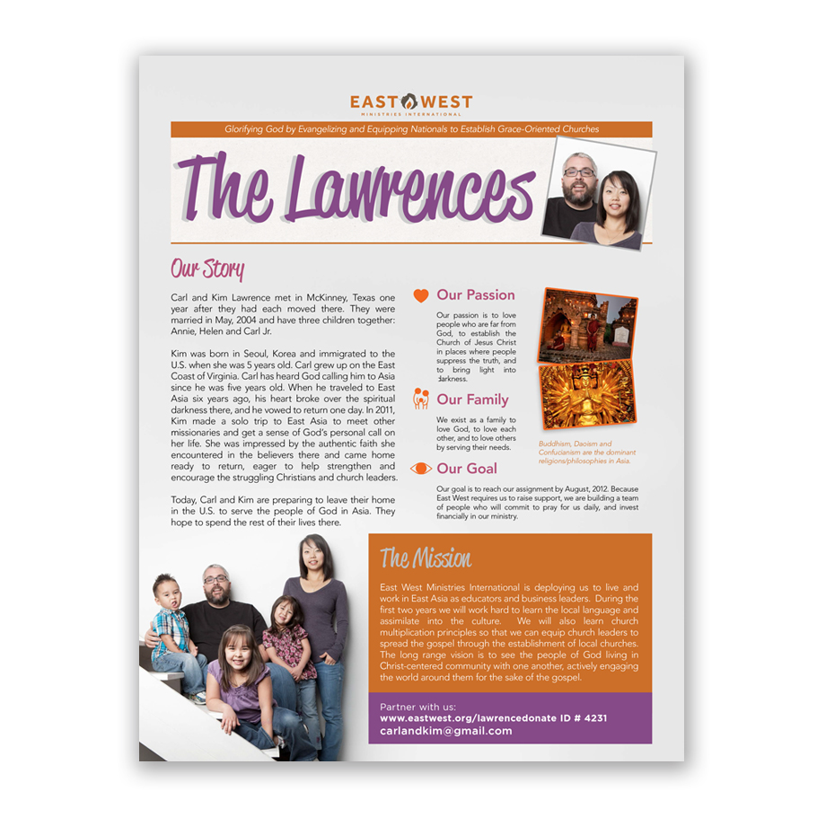 newsletters professional design printing mailing With missionary newsletter templates
